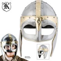 Historic Iron Barbarian Collectible War Helmet