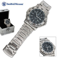Smith & Wesson Aviator Swiss Tritium Watch