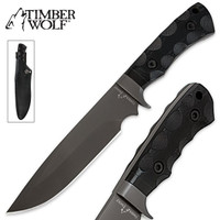 Timber Wolf Tactical Ranger Bowie With Sheath