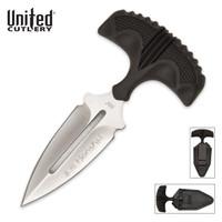 United Cutlery Honshu Push Dagger Silver Small