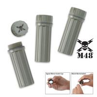 M48 Kommando Waterproof Match Boxes/Signal/Striker