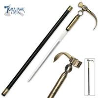 Hammerhead Sword Cane