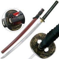 Ryumon Forged AISI 1060 Samurai Ninja Sword With Scabbard