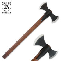 Hand-forged Double Head Axe