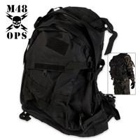 M48 Gear Backpack Black