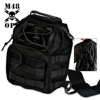 M48 Gear Tactical Military Bag Black