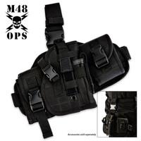 M48 Gear Assembled Drop Leg Gun Holster Black