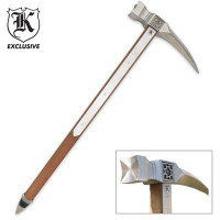 Massive Middle Ages Spiked War Hammer