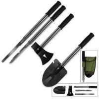 9-In-1 Mini Shovel & Tool Set