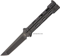 Quartermaster Marty McFly Balisong Limo Tint Butterfly Knife QTRQBS1LT