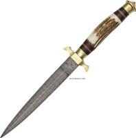 """13"""" DAMASCUS COMMANDO KNIFE DM-1031"""