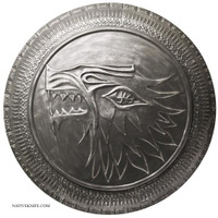Game of Thrones Stark Infantry Shield - The officially HBO licensed Product