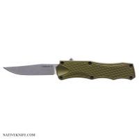 Hogue Knives OTF Automatic Knife OD Green HOG34011