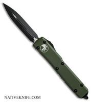 Microtech Ultratech D/E OTF Automatic Knife OD Green MT122-1CCOD