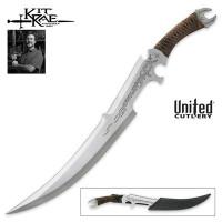 Kit Rae Mithrokil Short Sword, Satin with Sheath