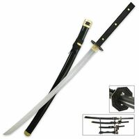 Bushido Three Piece Full Tang Samurai Sword Set Collector Edition