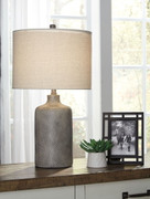 Linus Antique Black Ceramic Table Lamp (1/CN)