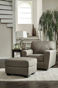 Calicho Cashmere Chair with Ottoman