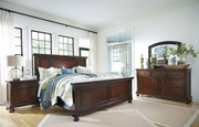 Porter 6 Pc. Dresser, Mirror, Queen Panel Bed & Nightstand