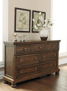 Flynnter Medium Brown Dresser