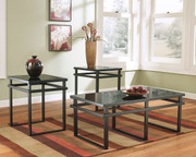 Laney Black Occasional Table Set