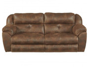 Ferrington Power Reclining Sofa with Power Headrest