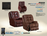 Jenson Power Lift Lay Flat Recliner