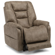Theo Fabric Power Recliner with Power Headreast and Lumbar