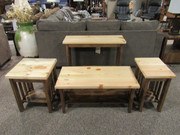 Two-Toned Pine Occasional tables