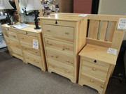 Back Woods Solid Pine Bedroom Group