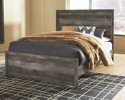 Wynnlow Gray Queen Panel Bed