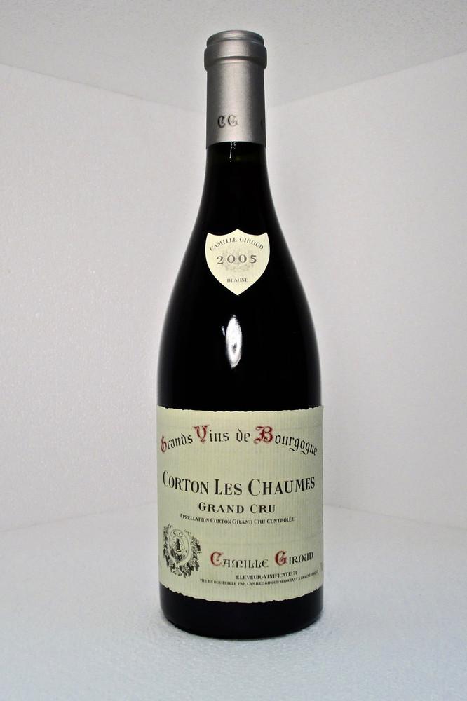 Camille Giroud Corton Les Chaumes Grand Cru 2005 750ml