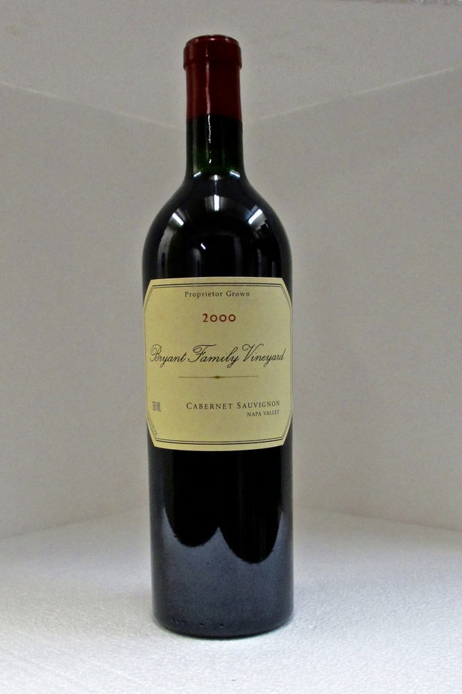 Bryant Family Cabernet Sauvignon 2000 750ml