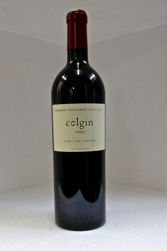 Colgin Cabernet Sauvignon Herb Lamb Vineyard 1993 750ml