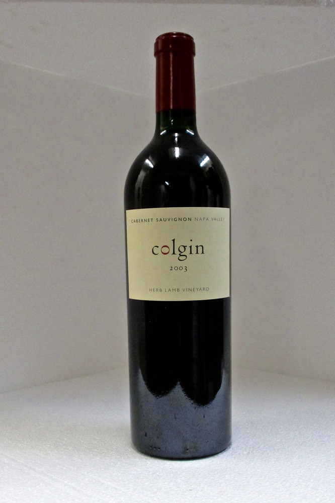 Colgin Cabernet Sauvignon Herb Lamb Vineyard 2003 750ml
