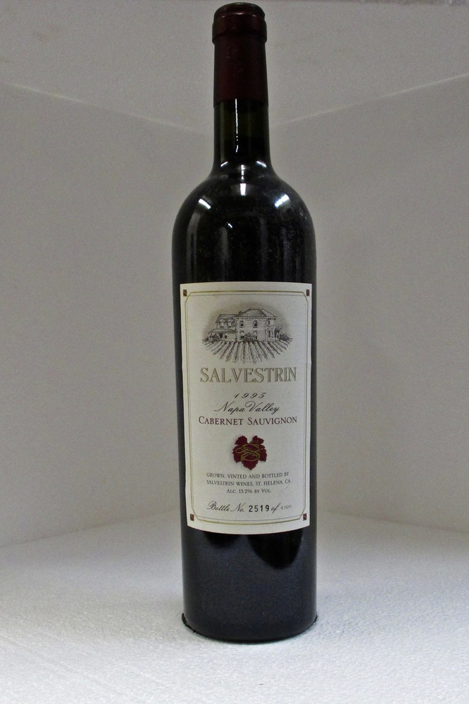 Salvestrin Cabernet Sauvignon Napa Valley 1995 750ml