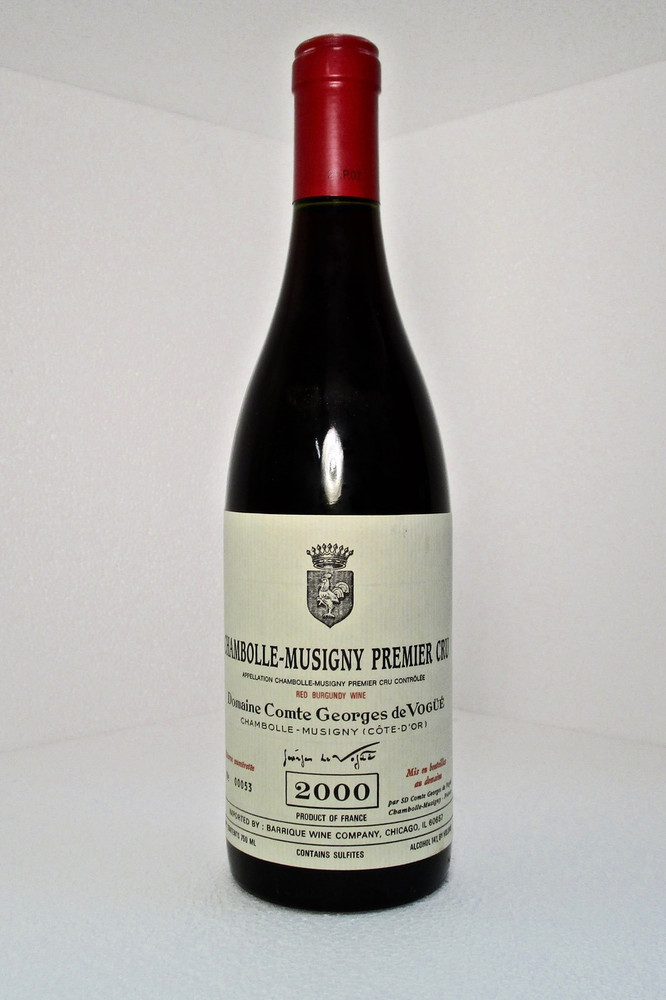 Domaine Comte Georges de Vogue Chambolle Musigny 1er Cru 2000 750ml