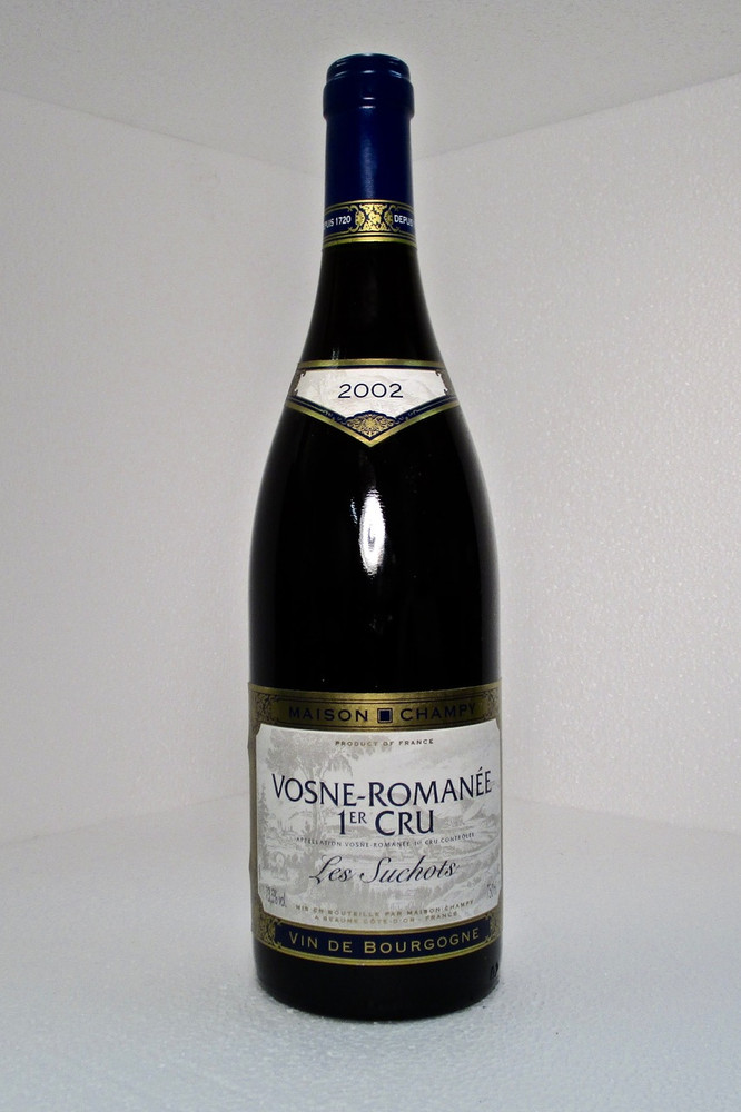 Maison Champy Vosne Romanee Les Suchots 1er Cru 2002 750ml