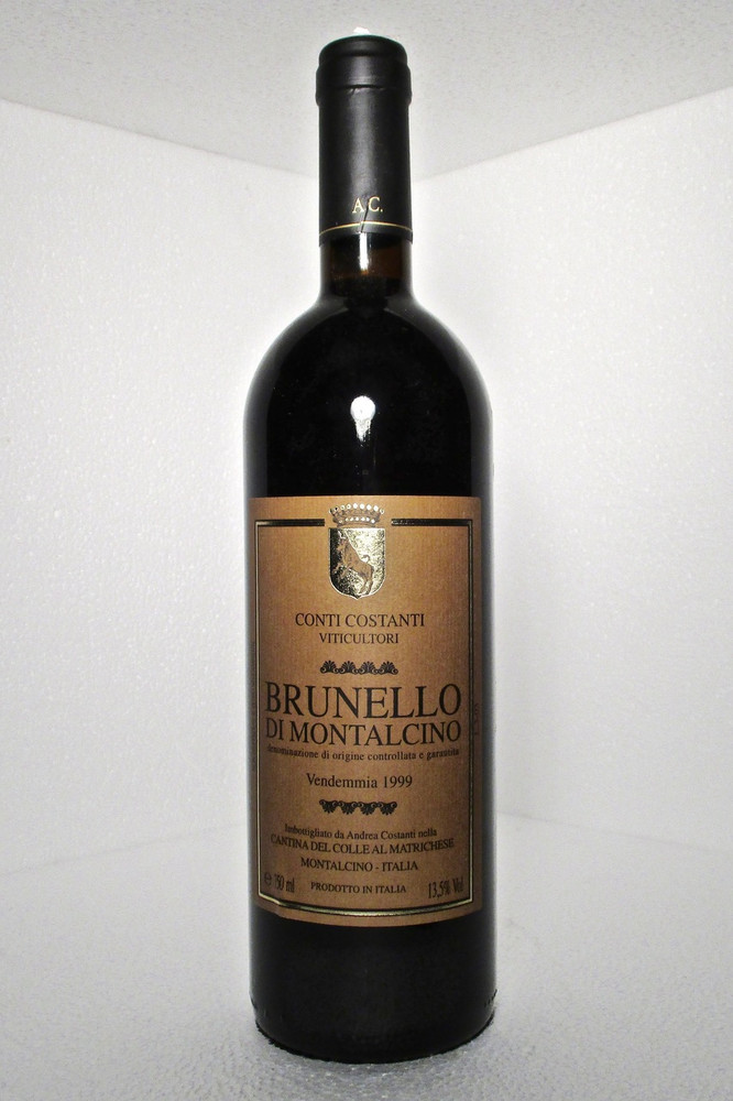 Conti Costanti Brunello di Montalcino 1999 750ml