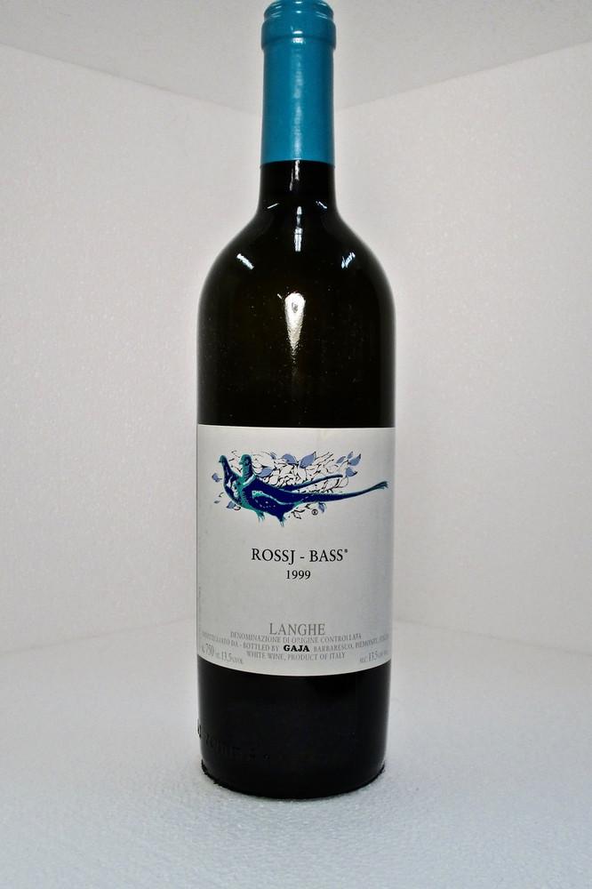 Gaja Rossj Bass Chardonnay 1999 750ml