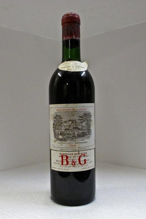 Lafite Rothschild 1966 750ml (Base Neck Fill)