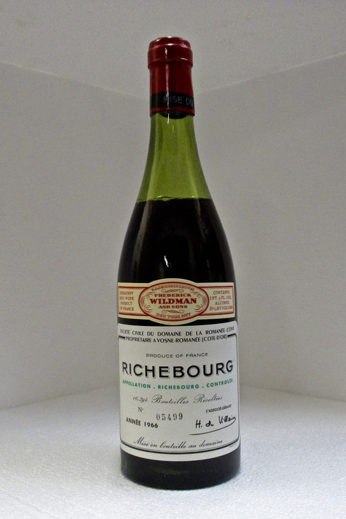 Domaine de la Romanee-Conti Richebourg Grand Cru 1966 750ml