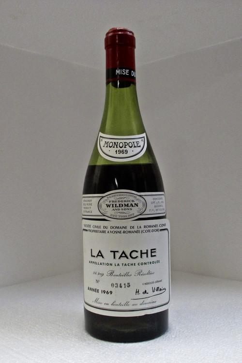 Domaine de la Romanee-Conti La Tache Grand Cru 1969 750ml (8.5cm Fill)