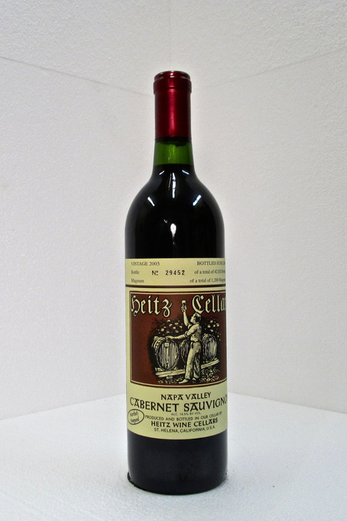 Heitz Cellar Cabernet Sauvignon Martha's Vineyard 2005 750ml