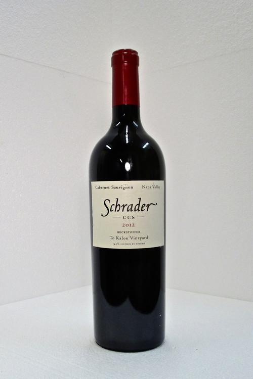Schrader CCS Beckstoffer To Kalon Vineyard 2012 750ml