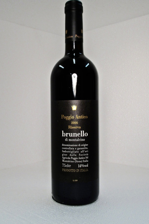 Poggio Antico Brunello di Montalcino Riserva 2006 750ml