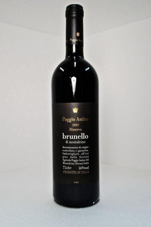 Poggio Antico Brunello di Montalcino Riserva 2007 750ml