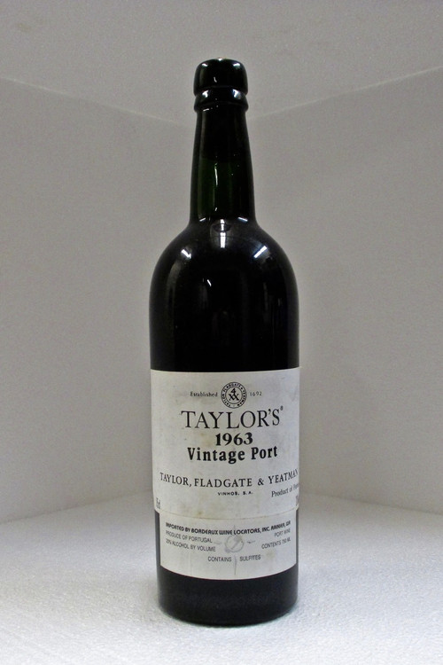 Taylor Fladgate Vintage Port 1963 750ml