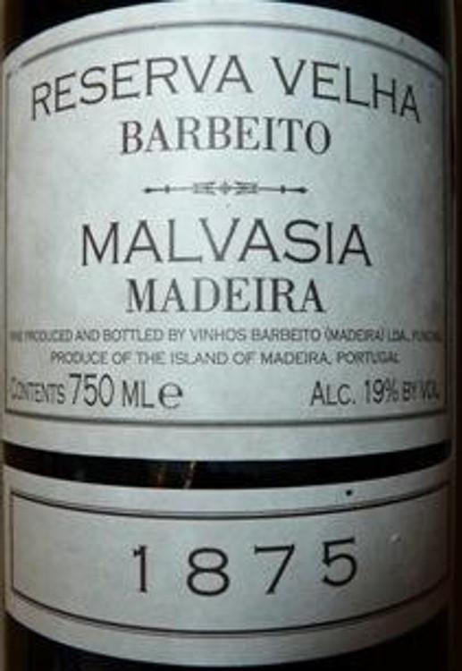 Barbeito Malvasia Madeira 1875 750ml