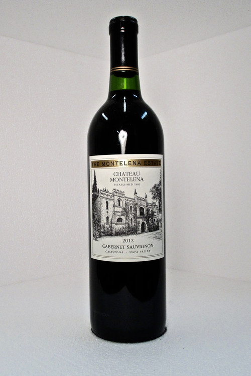 Chateau Montelena Cabernet Sauvignon Estate 2012 750ml